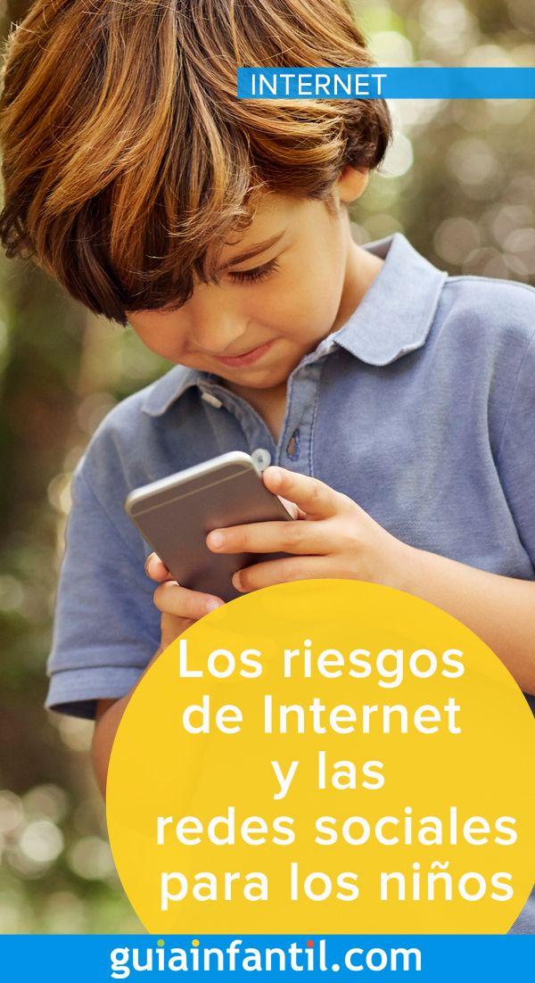 Los Riesgos De Internet Y Las Redes Sociales Para Los Niños Redes Sociales Para Niños Niños Redes Sociales