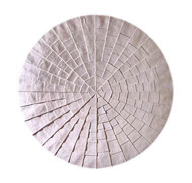 """Jan Schoonhoven - """"De Cirkel,"""" c.1967 by Jan Schoonhoven (1914-1994)"""