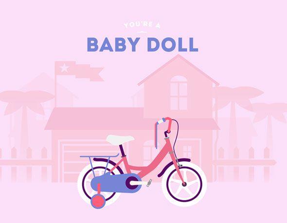 Baby Doll l #cyclemon #illustration