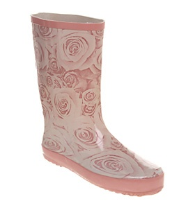 Office MARSHMALLOW WELLY NUDE ROSE RUBBER Shoes - Womens Ankle Boots Shoes - Office Shoes