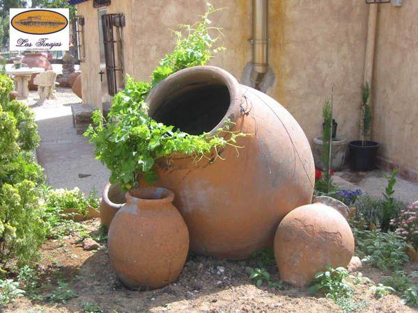 Tinajas para jardin google search jardines y fuentes for Google jardin