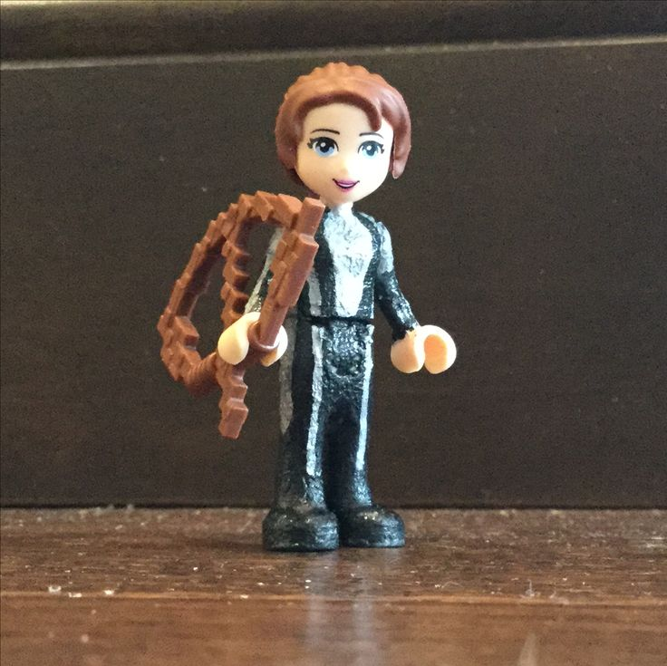 Customized lego; Katniss Everdeen, Quarter quell arena suit