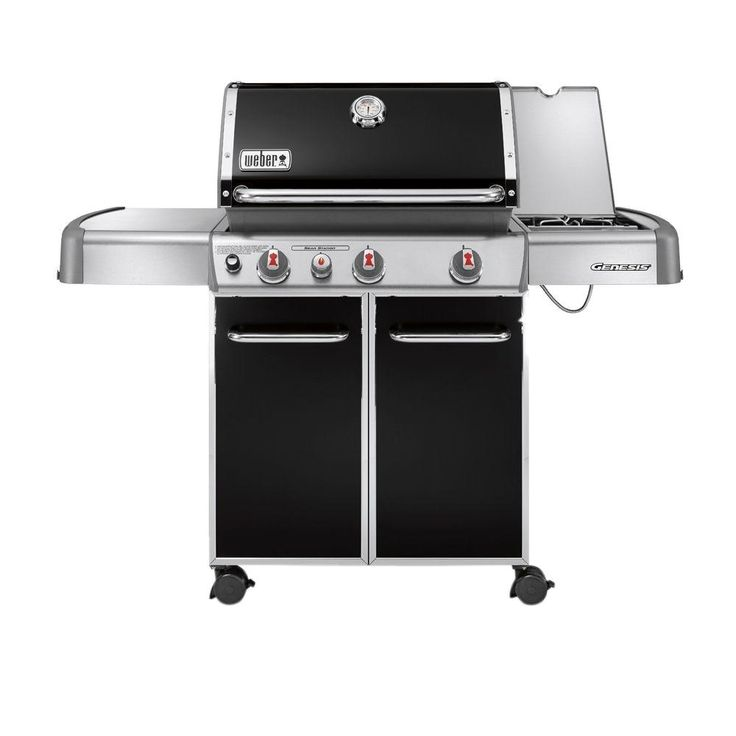 Weber Genesis E-330 3-Burner Propane Gas Grill in Black