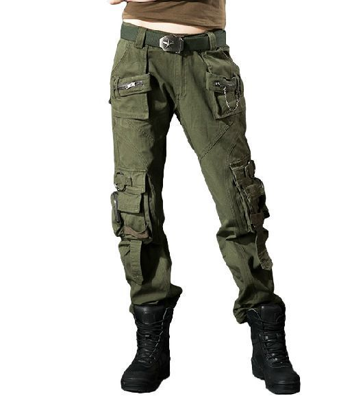 Womens New Combat Camouflage Pants Cargo Military Camo Casual Long Outdoor Trous #other #Cargo