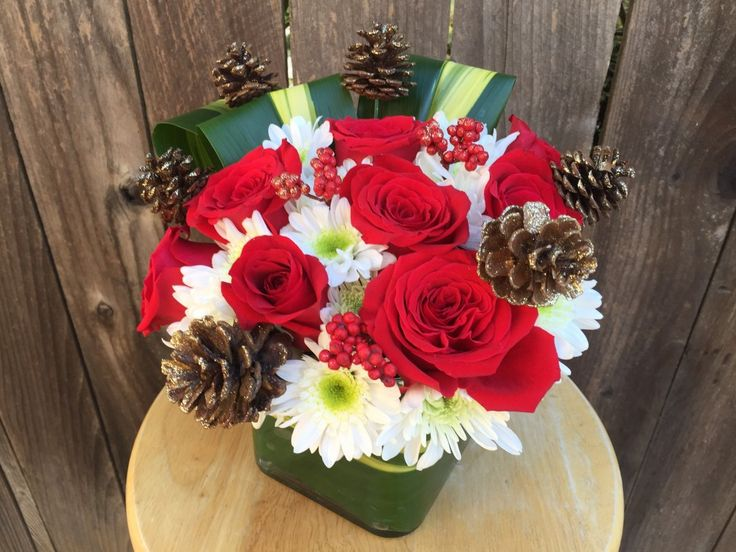 92 best Holiday Florals images on Pinterest | Florists, Flower ...