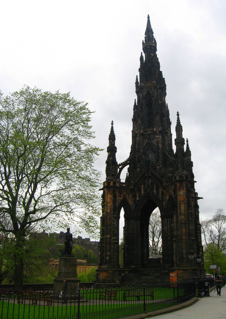 Sir Walter Scott Monument, Edinburgh, Scotland - Victorian Gothic architecture at its finest.