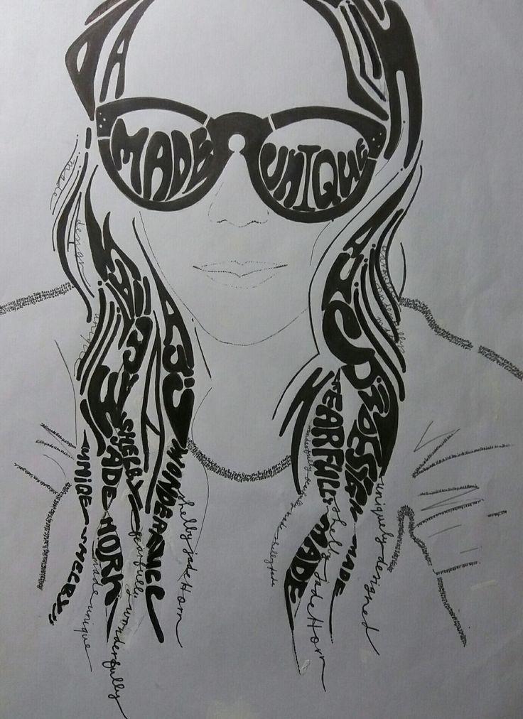 Self portrait..typography