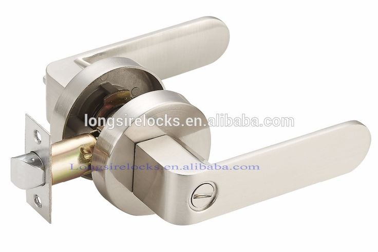 Turn/push button locking keyless handles keyless door lock