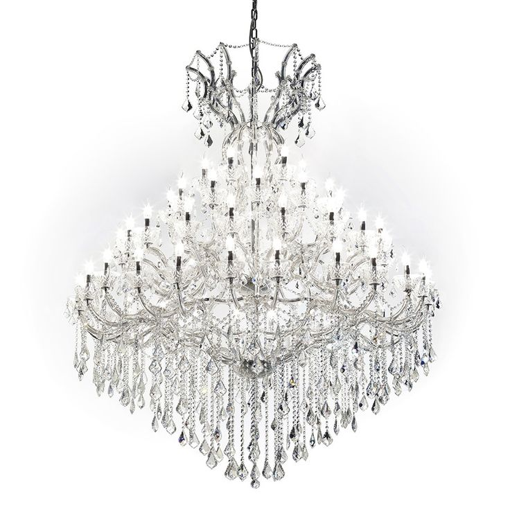 Lamp Flam 60 Sku 500178 Glass And Crystal Chandelier With Elegant Bright Pendants