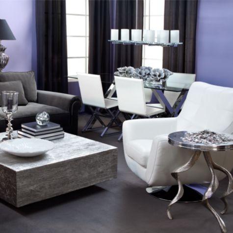 opción para decorar sala y comedor    Z Gallerie - Axis Dining Table