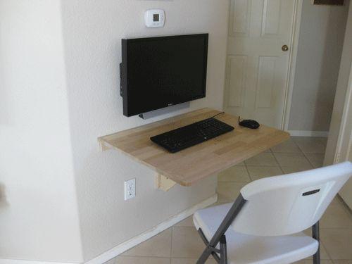 Ikea wall mounted drop leaf folding table - Wall mounted kitchen table ikea ...