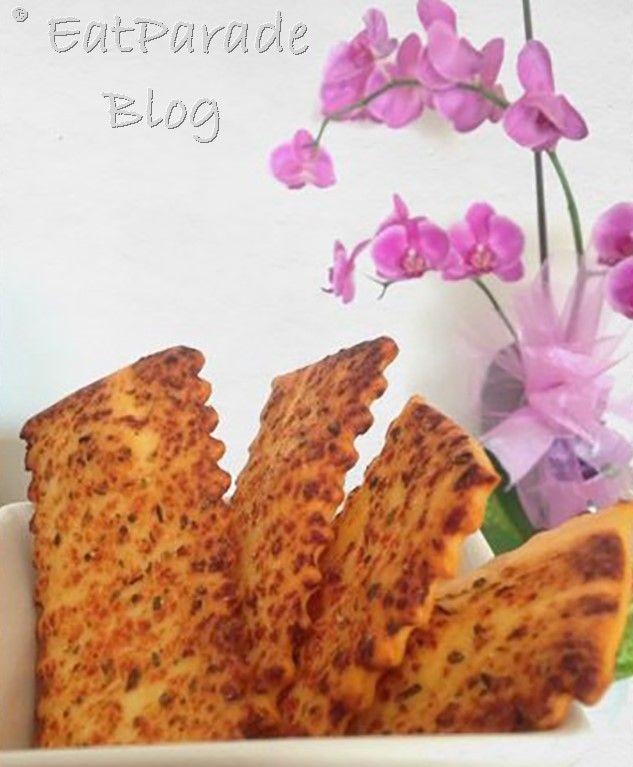 Crackers gusto pizza con lievito madre