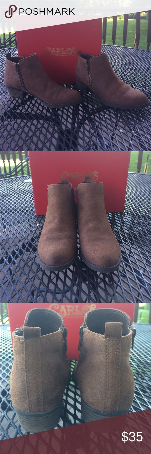 Carlos Santana boots EUC.  Worn a few times and outgrown. Carlos Santana Shoes Ankle Boots & Booties