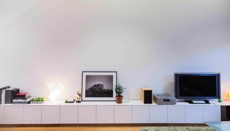 1000 id es sur le th me meuble tv relooking sur pinterest stands tv commod - Relooking meuble ikea ...