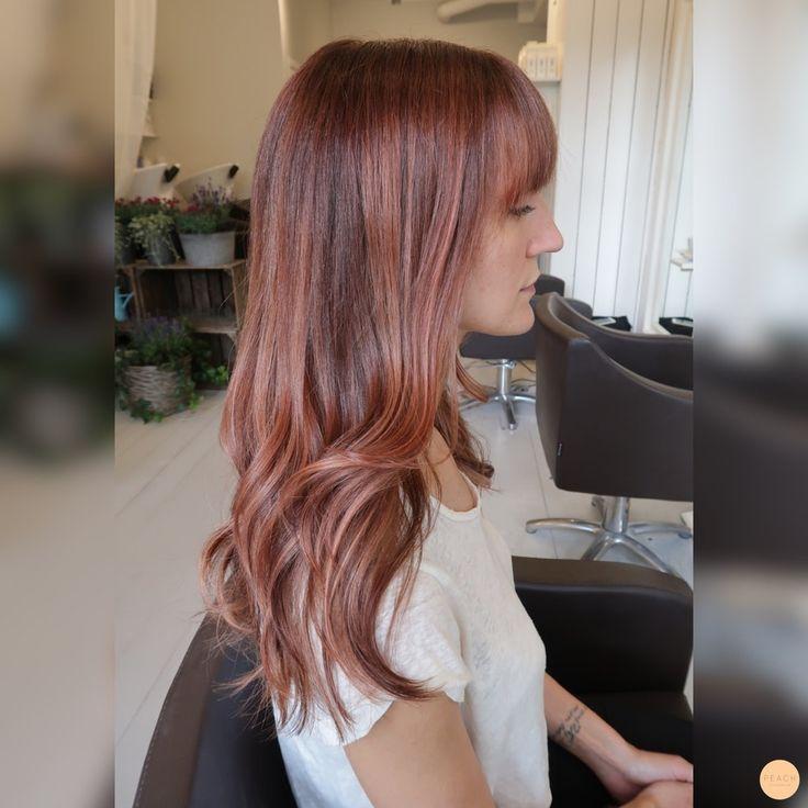 Soft copper hair