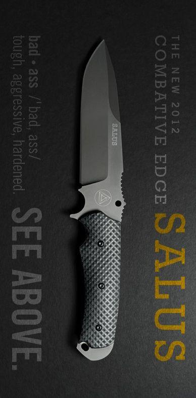 Combative Edge CBE00404 Salus Tactical Fixed Blade Knife