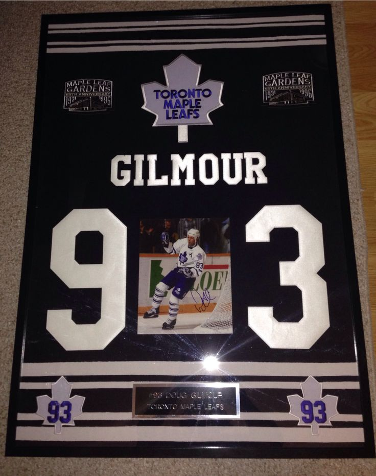 Doug Gilmour full sized frame - Contact me at macdonalds.sportsframes@yahoo.caif you have any questions or would like to request a frame.