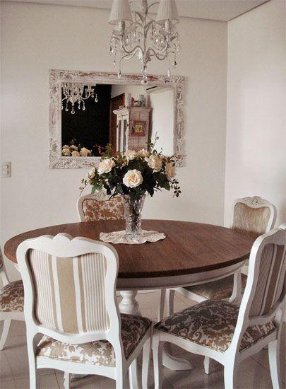 Sala de jantar provençal