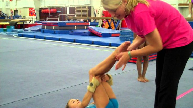 Cincinnati Gymnastics back tuck