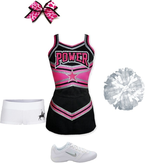 """cheer outfit #3"" by maddieprater ❤ liked on Polyvore"