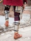 Armure médiévale de chevalier de l'Ouest «Garde du Roi»