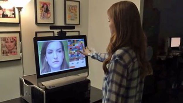 Sephora's Augmented Reality Mirror Adds Virtual Makeup To Customers' Faces