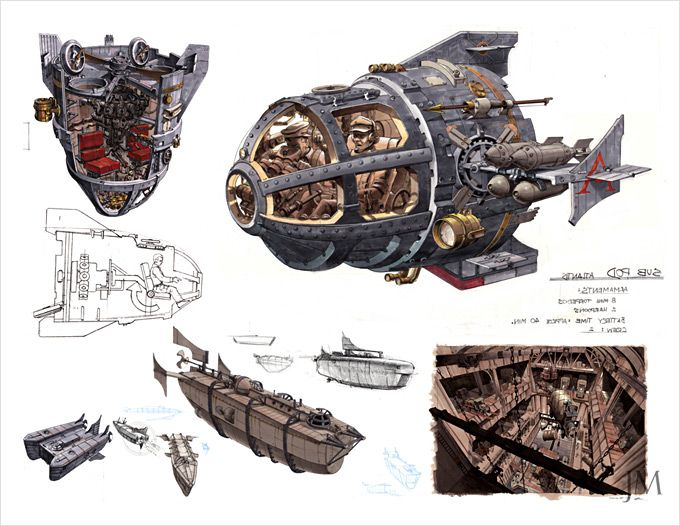 Jim Martin Concept Art and Illustration