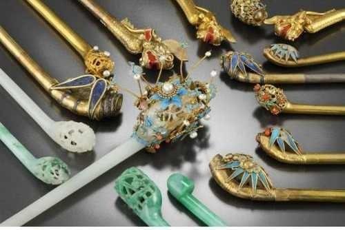 #Hanbok Accessories: Binyeo (Hair Pin)