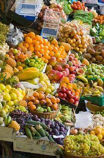 Mercado dos Lavadores, Funchal, Madeira,