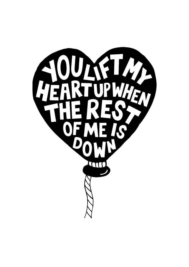 You lift my heart up, based on the song 'Latch' by Disclosure