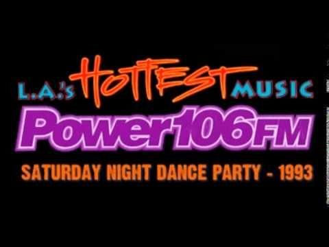 1993 Power 106 Saturday Night Dance Party Kpwr 105 9 Richard Humpty Vission Part 4 Youtube Saturday Night Dance Dance Party