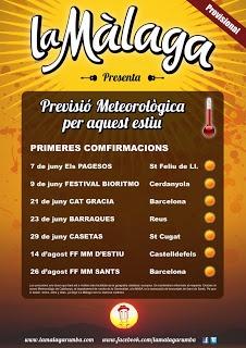 SANT GAUDENCI Rumba Catalana: 1rs concerts destiu de La Màlaga