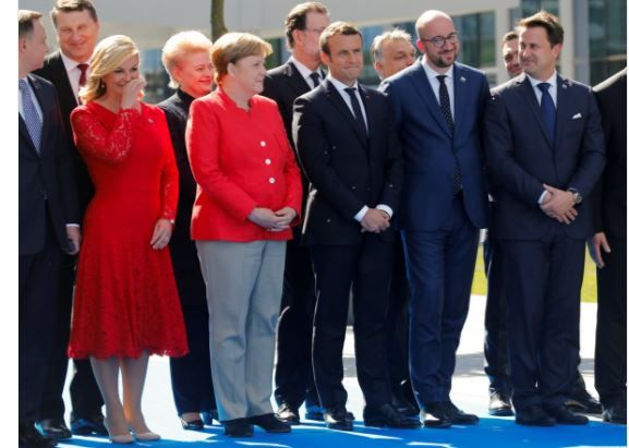 The World Literally Laughed At Trump As NATO Leaders Rolled Their Eyes During His Speech