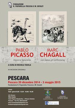 Pescara: mostra Picasso e Chagall dal 20 dicembre 2014 al 3 maggio 2015 - Attualità - Primo Piano