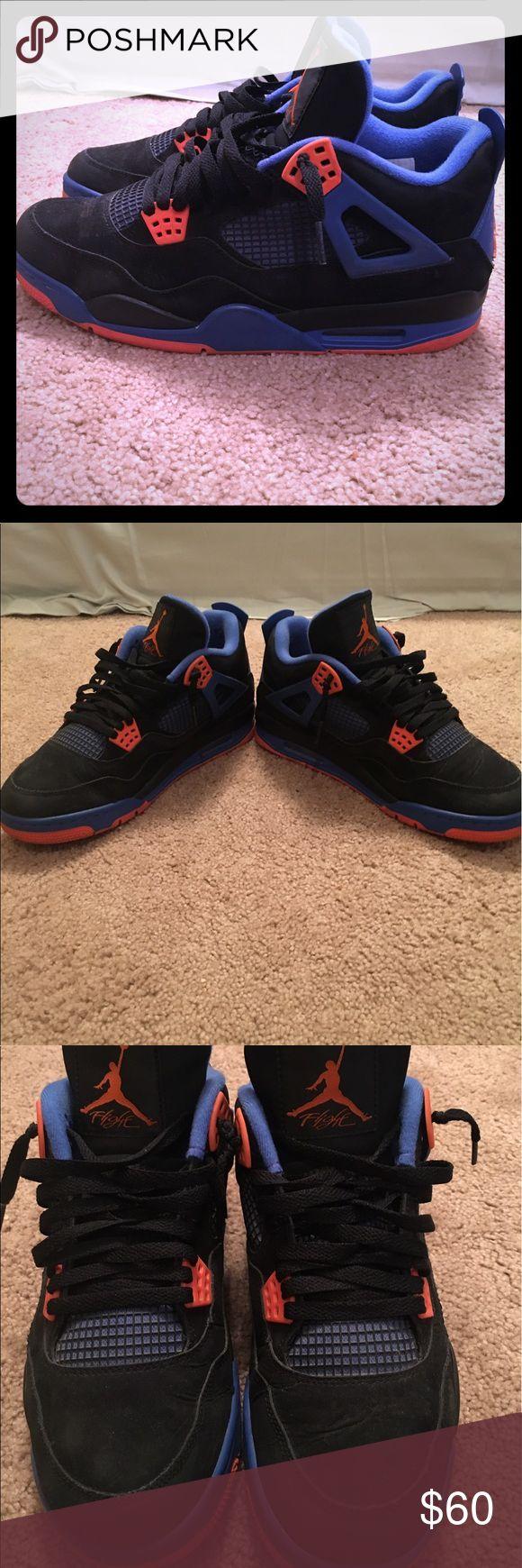 Exclusive Jordan 4 (Knicks) 8/10 condition. Worn about 5 times. Air Jordan Shoes Athletic Shoes