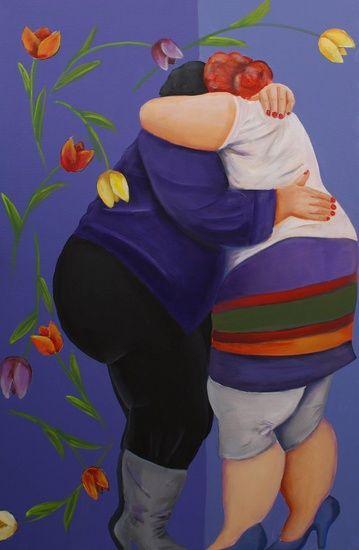Jenny Klevering - omhelzing
