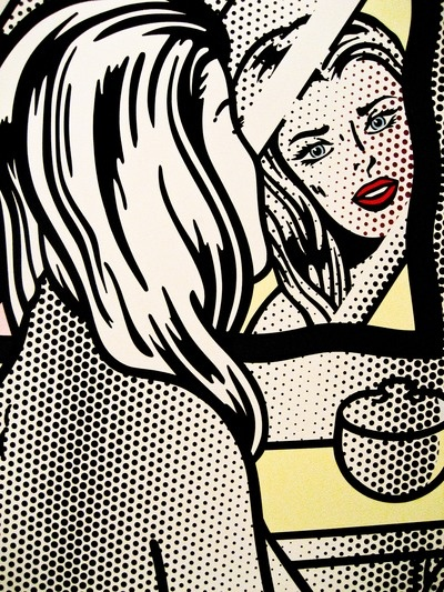 a comparison of the life of andy warhol and roy lichtenstein Warhol attempted to take pop beyond an artistic style to a life style  roy lichtenstein, jim dine and andy warhol from new york city.
