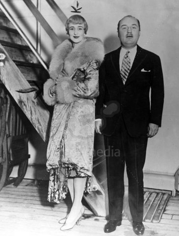 Charles Murat Prince Of Naples Italy With His Wife