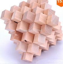 O envio gratuito de brinquedos educativos Puzzles Toy 32 Varas Grande Abacaxi Bolas Kong Ming Bloqueio de presente de natal(China (Mainland))