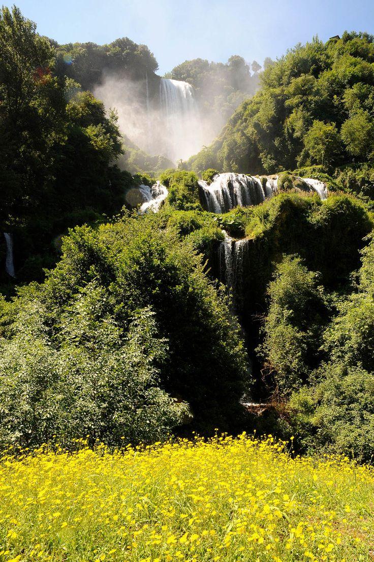 Cascata delle Marmore: quando l'uomo fa della natura un'opera d'arte... | Trippando