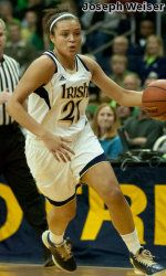 For the first time in her career, Notre Dame junior guard Kayla McBride (Erie, Pa./Villa Maria Academy) has been selected as both the espnW National Player of the Week and the BIG EAST Conference Player of the Week, it was announced Monday. McBride is the second Fighting Irish women's basketball player to earn the BIG EAST award this season, following in the footsteps of senior guard/co-captain Skylar Diggins (South Bend, Ind./Washington), who was chosen on Dec. 23, and McBride is the first…