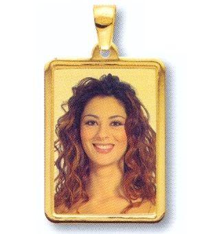 medaglia foto in oro