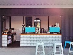 shipping container cafe - Google Search