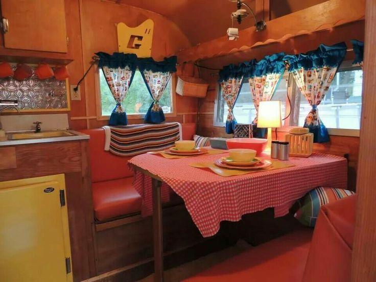 1962 Glendale Glendette | vintage travel trailers | Pinterest