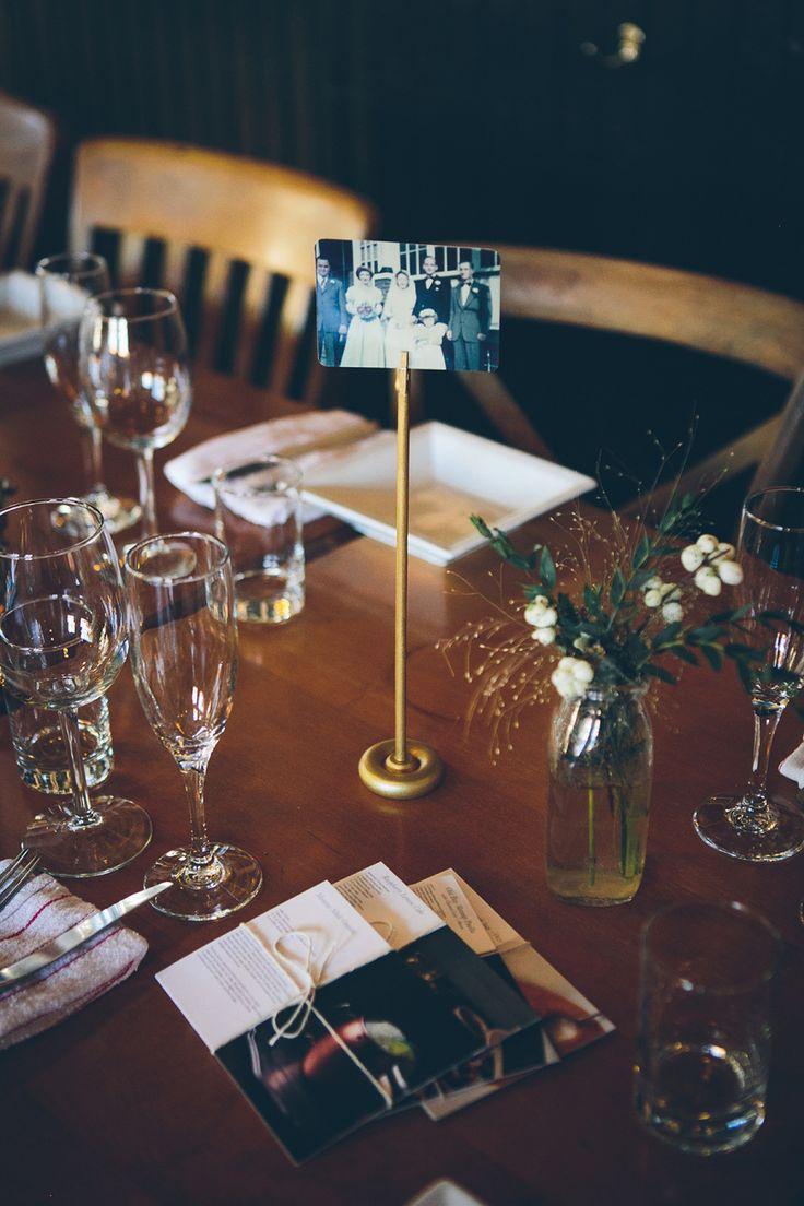 Floral Design: Nancy Ellison Of Wildflowers! - 585.233.5883 Reception Venue: Good Luck Restaurant - http://www.stylemepretty.com/portfolio/good-luck-restaurant Photography: Tawni Lee Weddings - http://www.stylemepretty.com/portfolio/tawni-lee-weddings   Read More on SMP: http://www.stylemepretty.com/2015/12/08/photography-focused-fall-wedding/