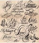 78+ images about tattoo lettering and fonts on Pinterest ...