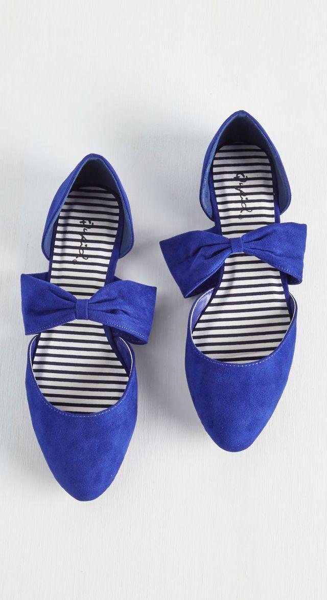 Cobalt bow flats