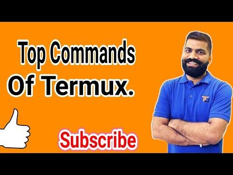 Top commands of termux  Beginners intechnical field must watch it