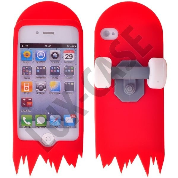 Skate Board (Rød) iPhone 4/4S Cover