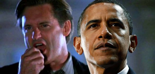 President Obama Recites Bill Pullman's Iconic Independence Day Speech Independence Day  #IndependenceDay